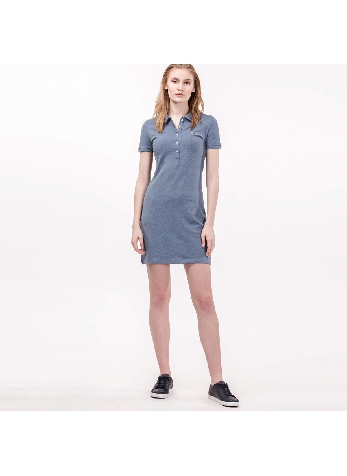 9790c799de45e Lacoste Kadın Kısa Kollu Mini Elbise renkli | Morhipo | 21006014